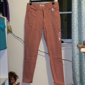 Peach super comfortable jeggings